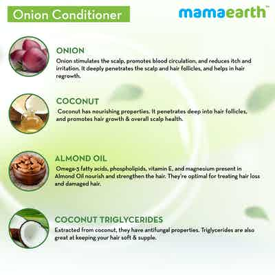 mamaearth onion conditioner ingredients