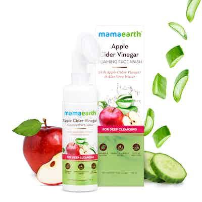 mamaearth Apple Cider Vinegar Foaming Facewash