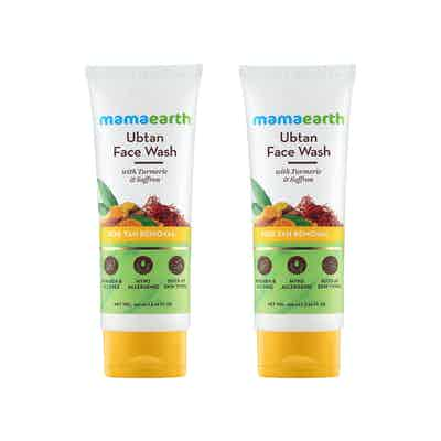 Ubtan Facewash for tan removal, Pack Of 2