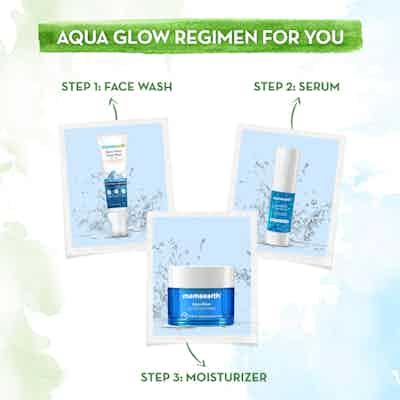 Aqua Glow Face  range