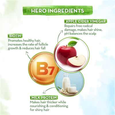 Apple Cider Vinegar Hair Mask with Organic Apple Cider Vinegar and Biotin