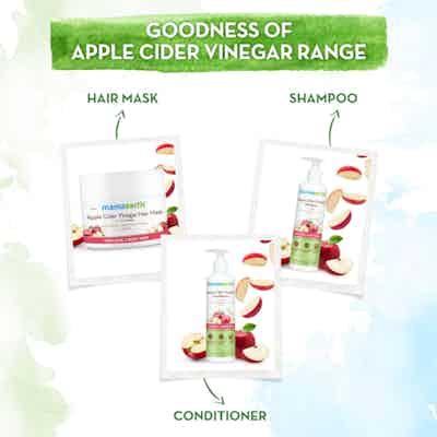 mamaearth apple cider vinegar hair mask