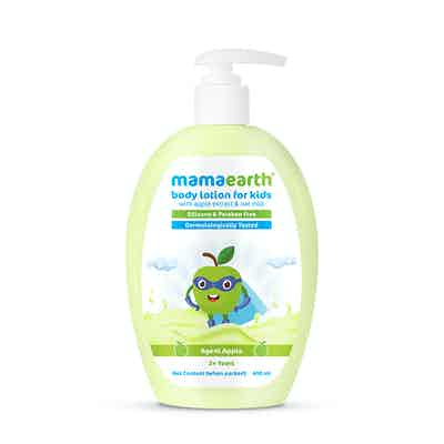 Major Mango Body Lotion For Kids with Mango Butter & Milk Protein - 400 ml