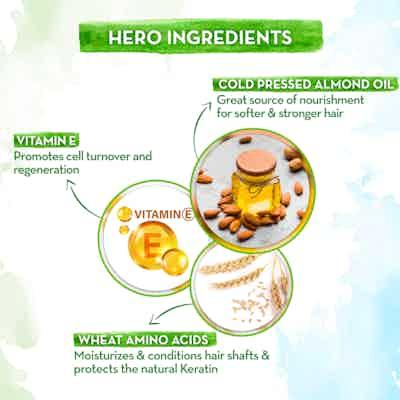 Almond mint leave-in conditioner With Vitamin E