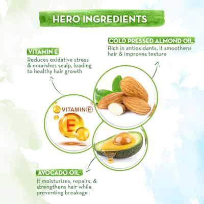 Aamaearth almond Hair Oil With vitamin E and avocado oil