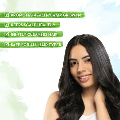 Almond Shampoo for Healthy Hair Growth