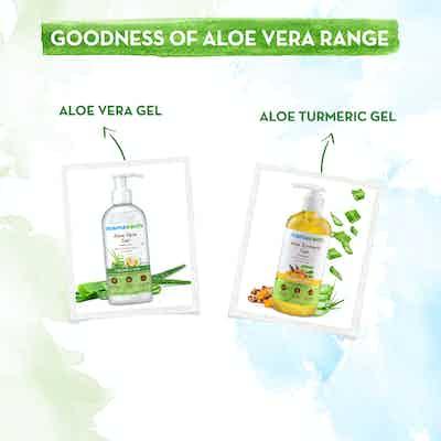 goodness of aloe vera range of mamaearth
