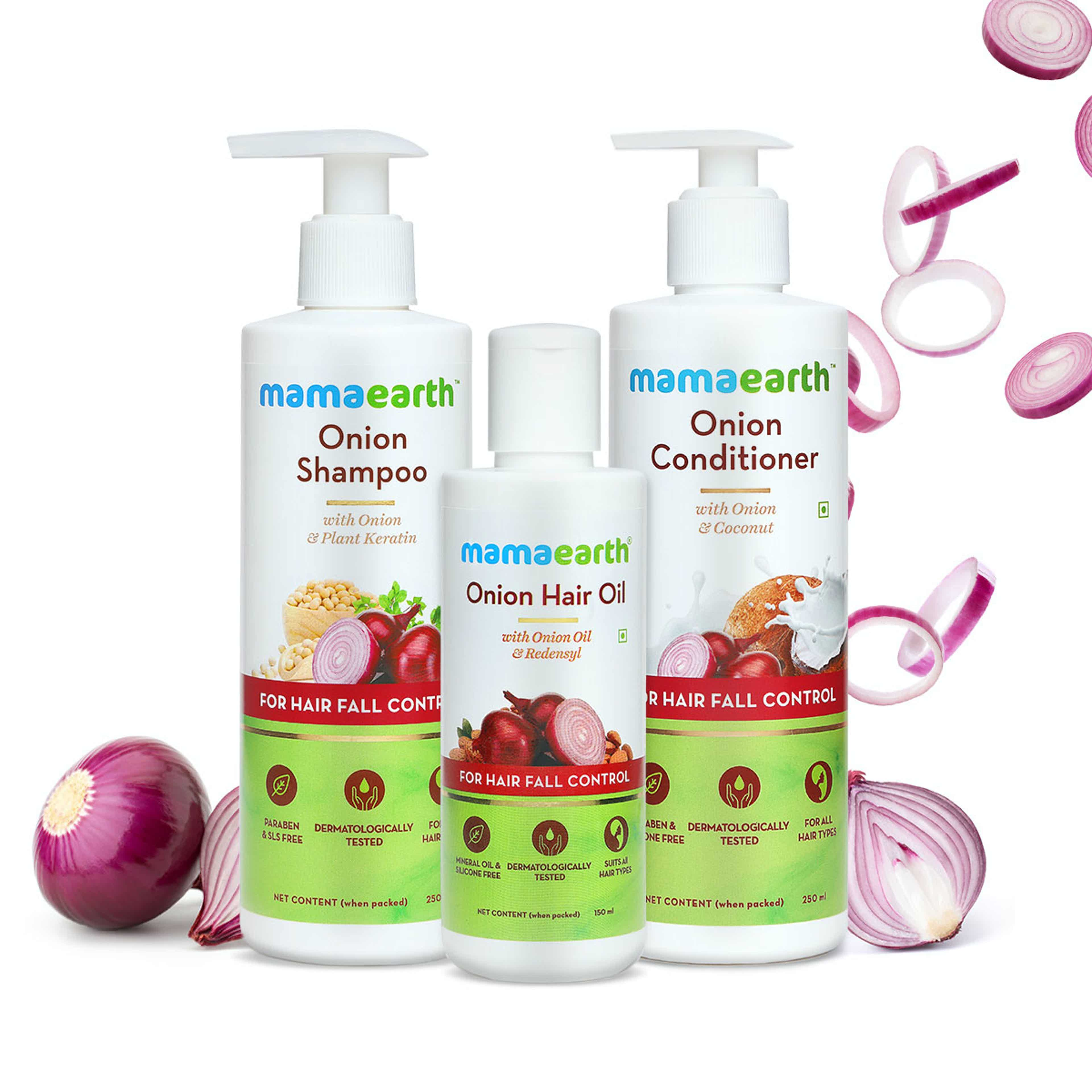 MamaEarth Coupons: Get up to 20% off on Onion Range