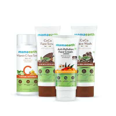 mamaearth anti pollution kit