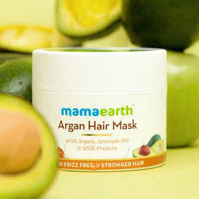 Argan Hair Mask with Argan, Avocado Oil, and Milk Protein for Frizz-free and Stronger Hair – 200ml