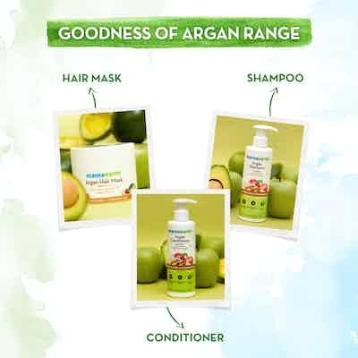 mamaearth argan oil range