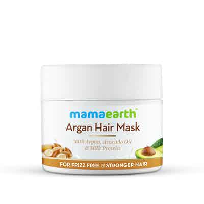 Argan Hair Mask with Argan, Avocado Oil, and Milk Protein for Frizz-free and Stronger Hair-200ml