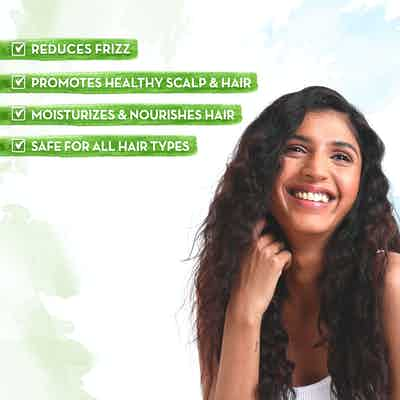 Argan Hair Oil moisturises & nourishes hair