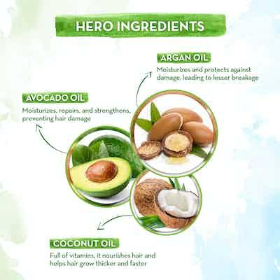 Argan Hair Oil with Coconut Oil and Avocado Oil