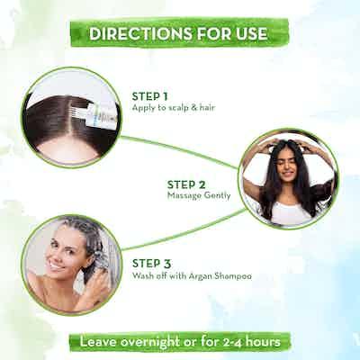 How to use Mamaearth Argan Hair Oil