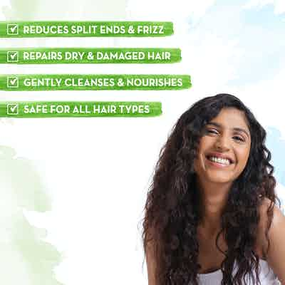 Argan Shampoo for Frizz-free and Stronger Hair