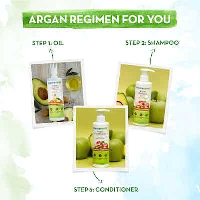 Mamaearth argan regimen for you