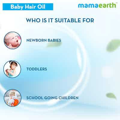 best hair oil for baby girl and boy