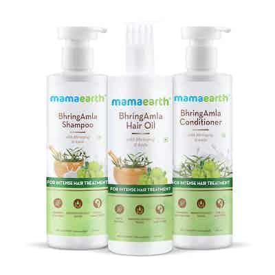 Mamaearth Intense Hair Treatment Kit