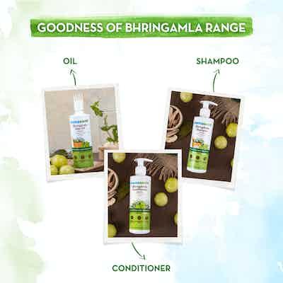 bhringamla hair mask range