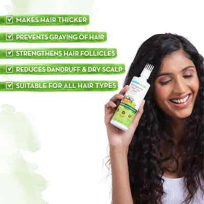 BhringAmla Hair Oil with Bhringraj and Amla for Intense Hair Treatment