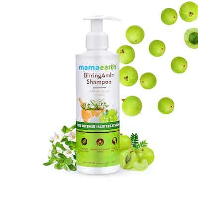 Mamaearth bhringraj shampoo