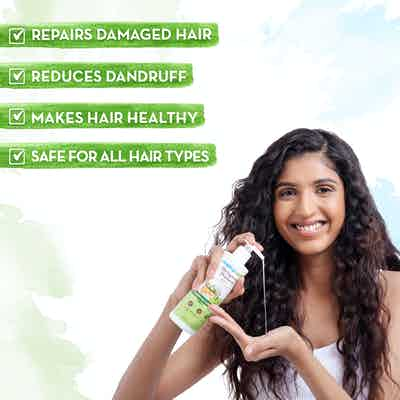 Mamaearth bhringraj shampoo safe for all