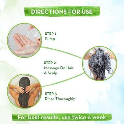 Mamaearth bhringraj shampoo how to use