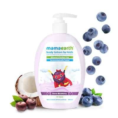 Mamaearth Brave Blueberry Body Lotion
