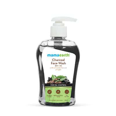 Charcoal Face Wash with Activated Charcoal and Coffee for Oil Control – 250ml