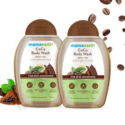 CoCo Body Wash With Coffee and Cocoa For Skin Awakening - Pack 2