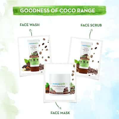 The goodness of Mamaearth coco cold cream