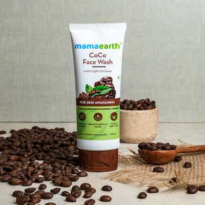 coffee face wash for dry skin