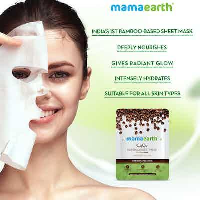 coffee face sheet mask