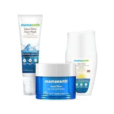 Mamaearth Aqua Glow Skin Refreshing Kit for Hydrated & Fresh Skin