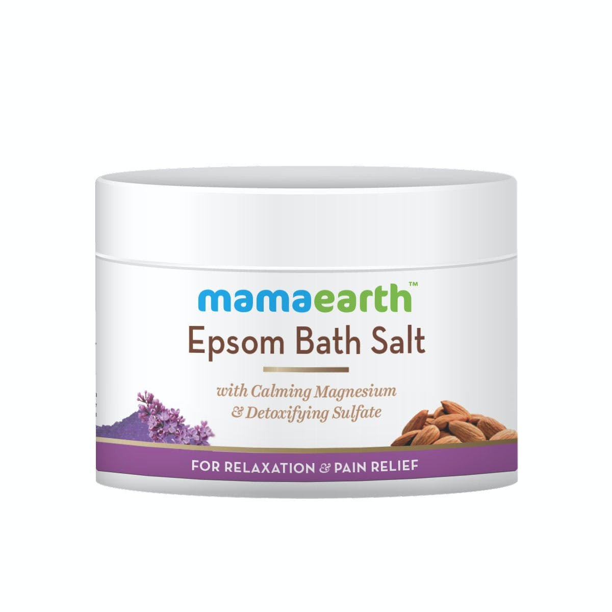 Epsom Salt Bath for Relaxation and Pain Relief | Mamaearth - 200 gm