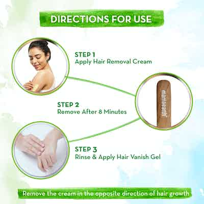 How to use Mamaearth Ubtan Nourishing Hair Removal Kit