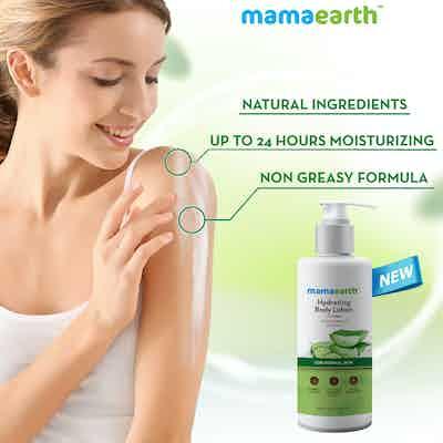 hydrating body lotion