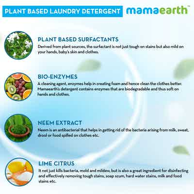 detergent for baby clothes with natural ingredients