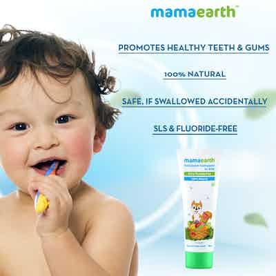 fruit flavor toothpaste