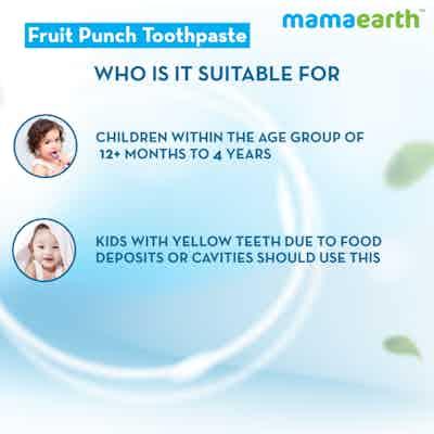 instant whitening fruit toothpaste