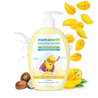 Mamaearth Major Mango Body Lotion