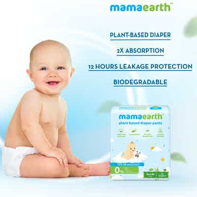 mamaearth plant based diapers