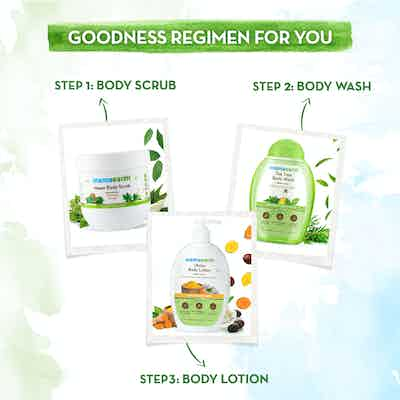 mamaearth goodness regimen for you