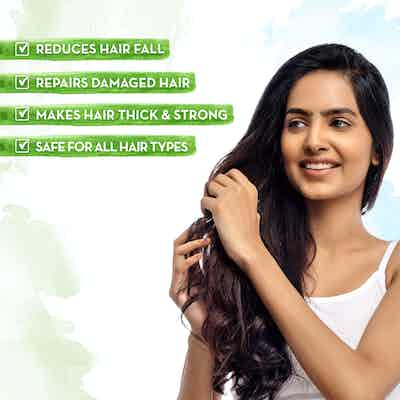 Onion Hair Mask makes hair thicker & strong