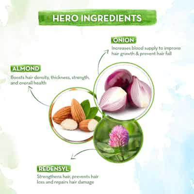 key ingredients mamaearth hair oil