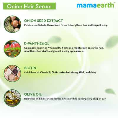 mamaearth onion serum ingredients
