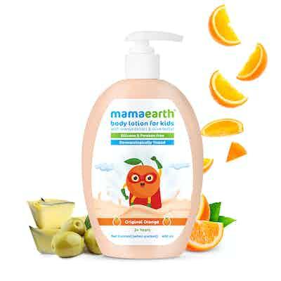 Mamaearth Original Orange Body Lotion