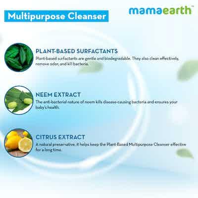 baby liquid cleanser natural ingredients