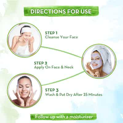 how to use Retinol Face Mask with Retinol and Bakuchi for Fine Lines & Wrinkles - 100 g